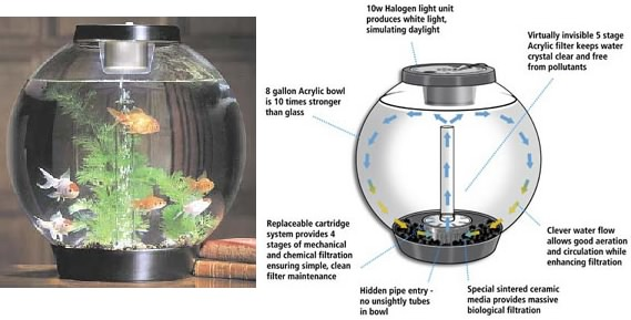 biOrb and biUbe Aquarium Tanks and Products for your fish